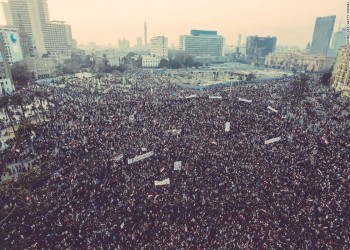 وسم 25 يناير يتصدر تويتر عشية ذكرى الثورة المصرية