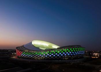 بإضاءة الـLED.. ملعب هزاع بن زايد يستعد لمونديال الأندية