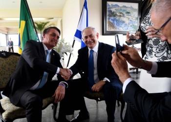 نتنياهو: نقل السفارة البرازيلية للقدس مسألة وقت