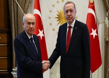 أردوغان يلتقي زعيم الحركة القومية الأربعاء