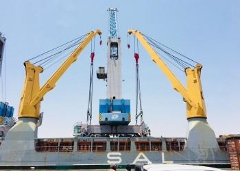 رافعات قطرية تصل إلى السودان لإعادة تأهيل ميناء سواكن