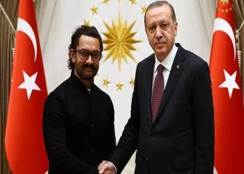 «أردوغان» يستقبل الممثل الهندي «عامر خان»