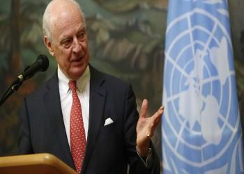 «دي ميستورا» يبحث «اللجنة الدستورية» مع المعارضة السورية بإسطنبول