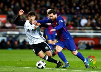 كأس إسبانيا.. برشلونة يحقق فوزا هزيلا على فالنسيا