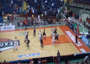 شاهد.. نهاية درامية مثيرة لمباراة بالدوري البرازيلي لكرة السلة