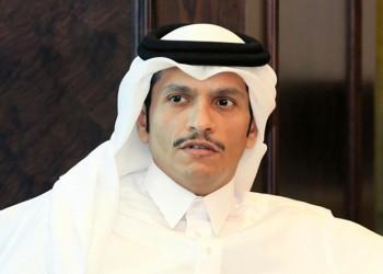 وزير الخارجية القطري يبحث مع المبعوث الفرنسي الأزمة الخليجية