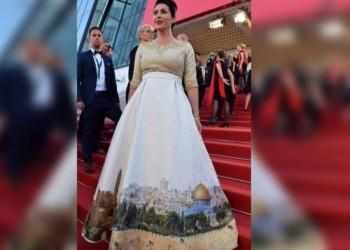 وزيرة إسرائيلية ترتدي فستان بصورة «القدس» في مهرجان «كان» .. وإعلاميون: «هذه وقاحة»