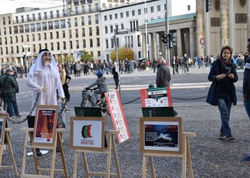 حملة مقاطعة الإمارات تفضح انتهاكات أبوظبي ببرلين وباريس