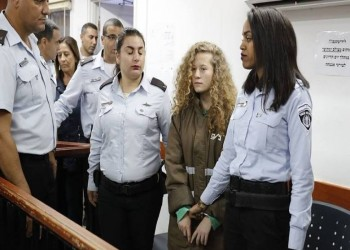 قلق أممي بشأن اعتقال «عهد التميمي» بالسجون الإسرائيلية