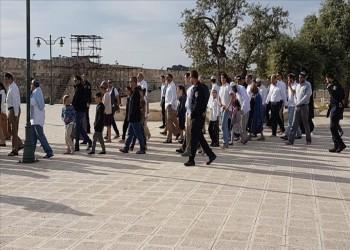 مئات المستوطنين اليهود يقتحمون المسجد الأقصى