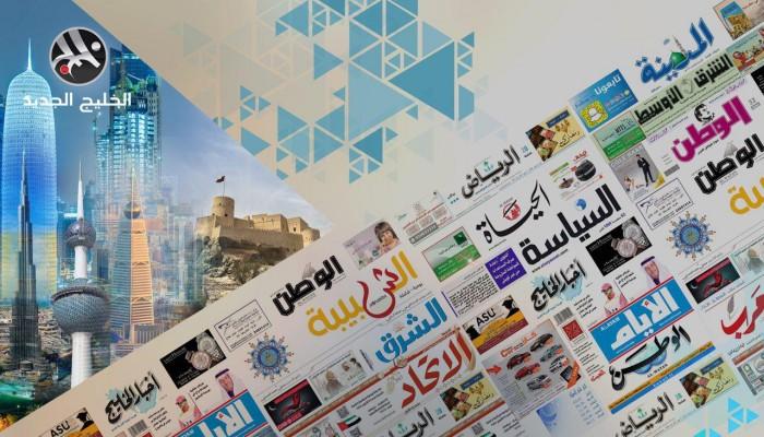 صحف الخليج تبرز سجال قطري إماراتي وتعاون سعودي بحريني