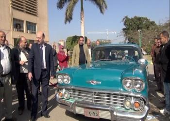 وزارة الري المصرية تعرض سيارة جمال عبدالناصر في أسوان