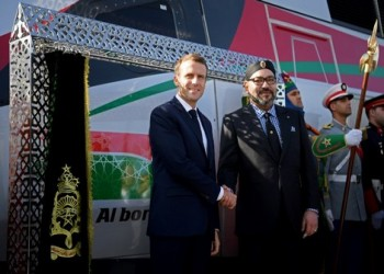 تدشين أول قطار فائق السرعة في المغرب