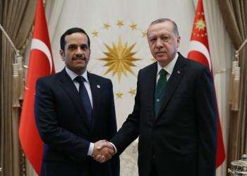 الرئيس التركي يستقبل وزير الخارجية القطري بأنقرة