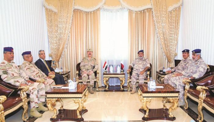 مباحثات عسكرية بين رئيس الأركان القطري ومسؤولين عراقيين