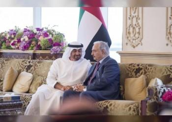 نائب رئيس الوزراء الإماراتي يلتقي «حفتر»
