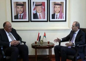 وزيرا خارجية مصر والأردن يبحثان ملف المصالحة الفلسطينية