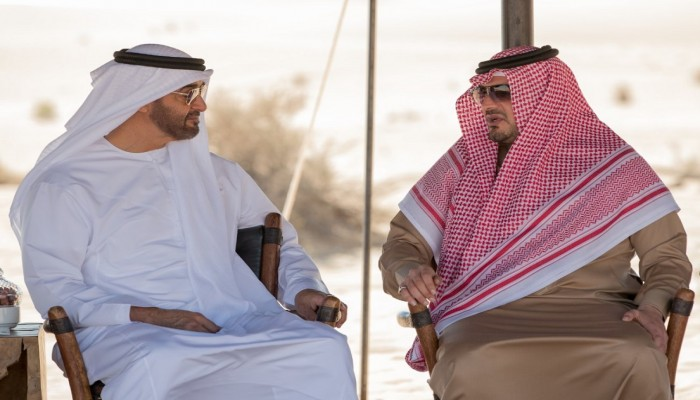 «بن زايد» يستقبل وزير الداخلية السعودي خلال زيارته للإمارات