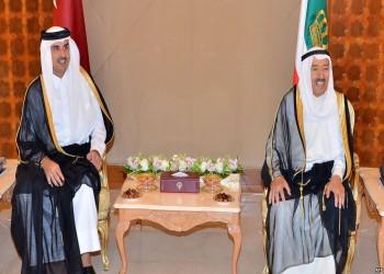 تميم يهاتف أمير الكويت عقب القمة الخليجية