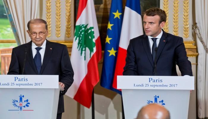 «ماكرون» يؤكد دعم فرنسا لوحدة وسيادة واستقرار لبنان