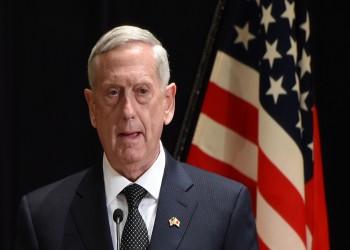«ماتيس»: لدينا الصلاحيات القانونية لشن ضربة عسكرية في سوريا