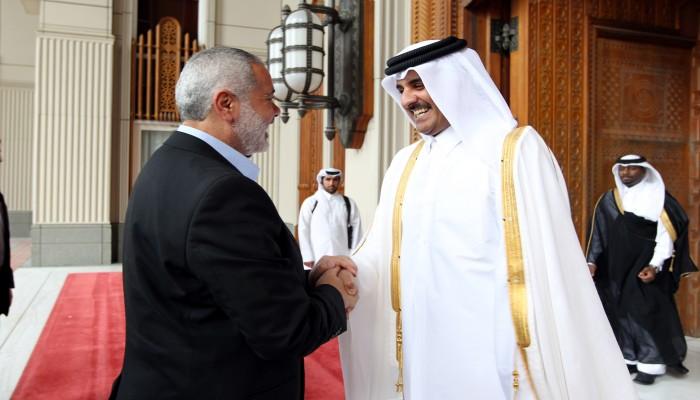 أمير قطر يؤكد لـ«هنية» تضامن بلاده الكامل مع الشعب الفلسطيني