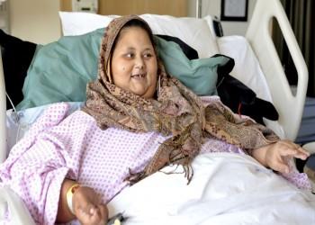وصول جثمان أسمن امرأة في العالم إلى القاهرة