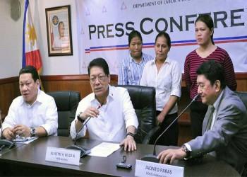 وزير العمل الفلبيني: لا جديد مع الكويت بشأن العمالة