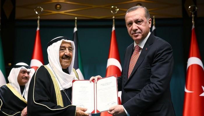 «أردوغان» يطمئن هاتفيا على صحة أمير الكويت