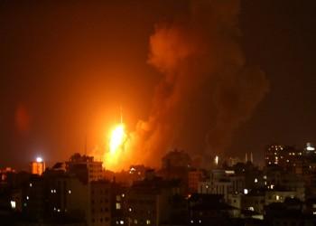 الاحتلال الإسرائيلي يشن سلسلة غارات على قطاع غزة