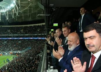 بحضور «أردوغان».. بيشكتاش يتعادل مع موناكو بأبطال أوروبا
