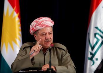 بارزاني في بغداد للمرة الأولى منذ استفتاء انفصال كردستان