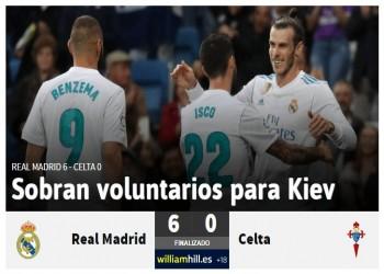 ريال مدريد يستعيد ذاكرة الانتصارات بسداسية في شباك سيلتافيجو