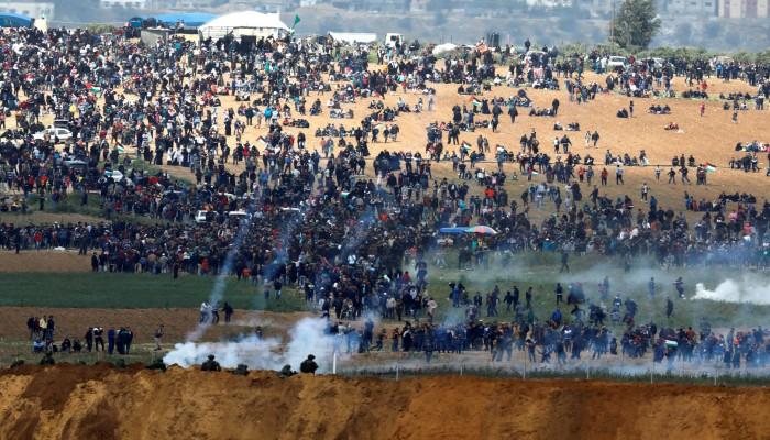 رسالة مسيرة العودة: (إسرائيل) تواصل سرقة الأرض