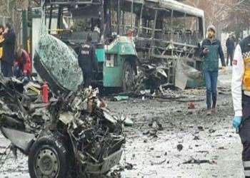مقتل 13 جنديا وإصابة 48 أخرين في انفجار وسط تركيا