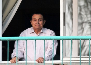 مبارك يغيب عن الشهادة بقضية مرسي في اقتحام السجون