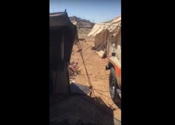 فيديو.. جندي سعودي سابق وعائلته دون مأوى يواجهون البرد القارس