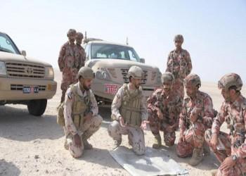 انطلاق التمرين العسكري الإماراتي العماني المشترك تعاون-2