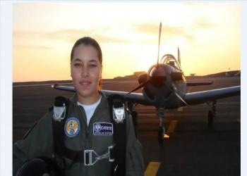 «مايبلن ثريا».. أول مسلمة تقود طائرة حربية في أمريكا اللاتينية