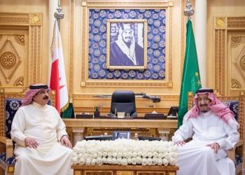 الملك سلمان يعقد جلسة مباحثات ثنائية مع العاهل البحريني