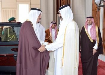 الملك «سلمان» يطمئن على صحة أمير قطر السابق بعد إجرائه عملية جراحية