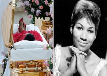 """جنازة مهيبة لـ""""أرثا فرانكلين"""".. ملكة موسيقى السول والأنوثة السمراء"""