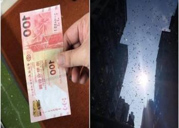 السماء تمطر مالا في حي شعبي بهونغ كونغ!