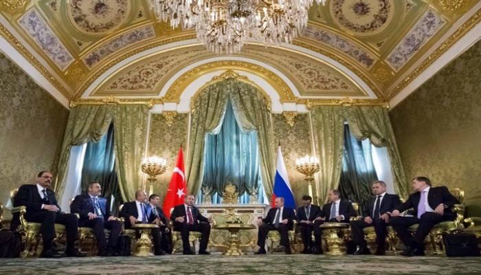 مسؤولون أتراك وروس يناقشون الملف السوري واتفاق سوتشي