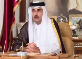 أمير قطر يعزي «أخيه» رئيس الإمارات في وفاة والدته