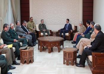 إيران توقع مع النظام السوري وثيقة للتعاون العسكري
