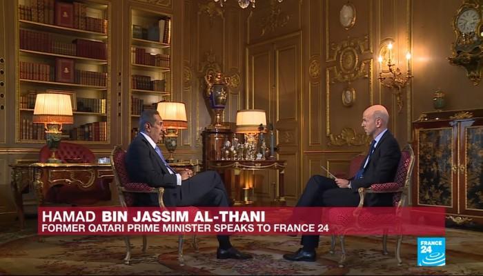 """""""حمد بن جاسم"""": السعودية والإمارات دمرتا """"مجلس التعاون الخليجي"""""""