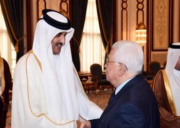 «تميم» يبحث مع «عباس» آخر المستجدات المتعلقة بالقدس