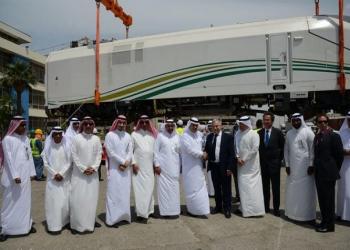 «قطار الحرمين» الرابع يصل إلى ميناء جدة