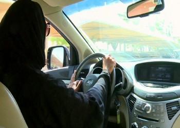 فتاة سعودية تتسبب في حادث مروري بين 3 سيارات